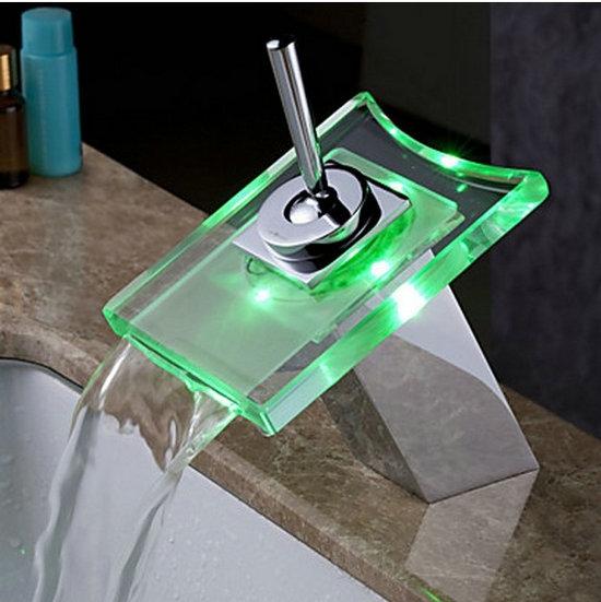 Watervalkraan Bally Led Design Kraan Waterval Kraan