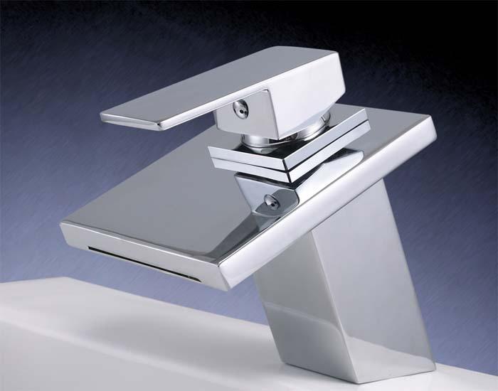 Watervalkraan Carice Zilver Design Kraan