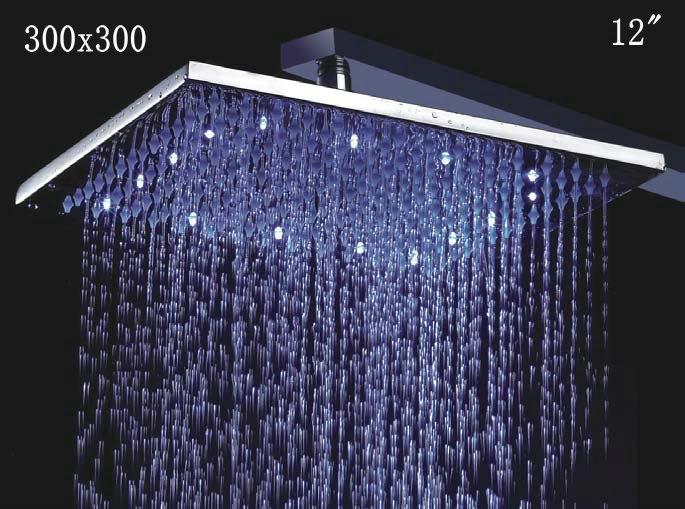 LED Regen Douchekop 30 CM Stortdouche