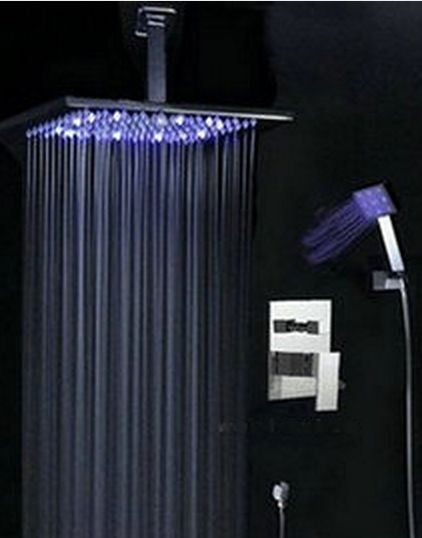 LED stortdouche 300 MM incl. bedienings paneel