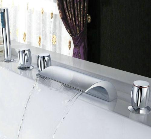 Watervalkraan Type Acquario Design Waterval Bad Kraan