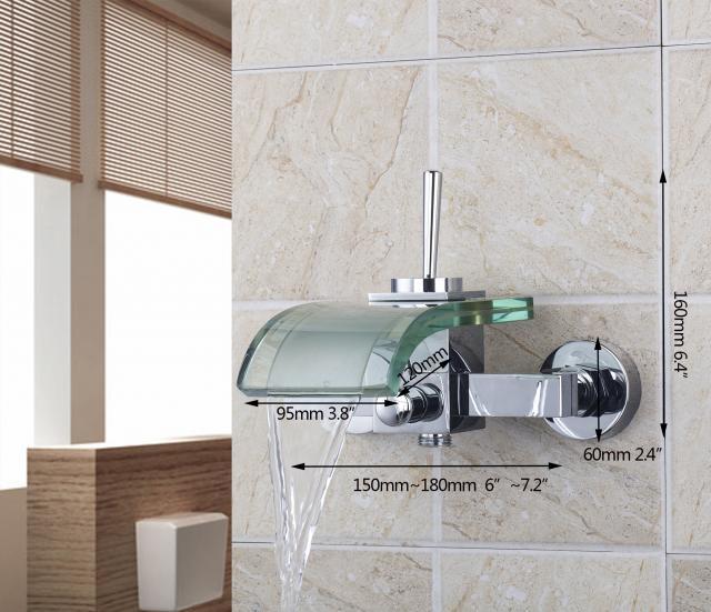 Watervalkraan Cascada Bad Design Kraan badkraan