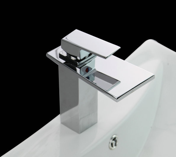 Watervalkraan Ampia Chrome Design Kraan