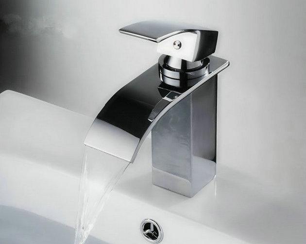 Watervalkraan Barre Elegance chroom Design Kraan