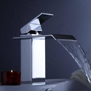 Watervalkraan Barre Zilver Design Kraan