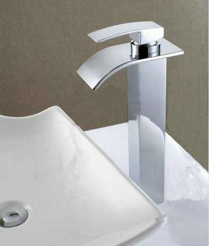 Watervalkraan Barre Elegance Zilver XL Design Kraan