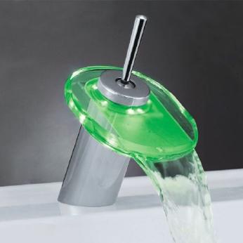 Watervalkraan Jenzi Design LED Kraan