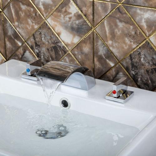 Watervalkraan Type Acquario Design Waterval wastafel kraan